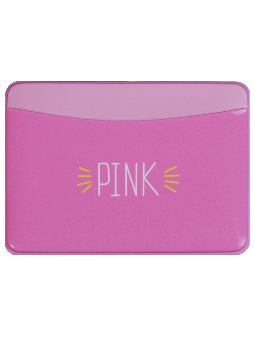 Чехол для карточек горизонтальный Pink