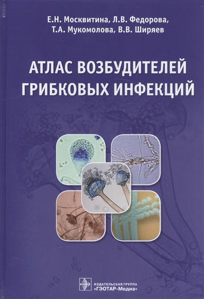 Москвитина Е., Федорова Л. и др. Атлас возбудителей грибковых инфекций