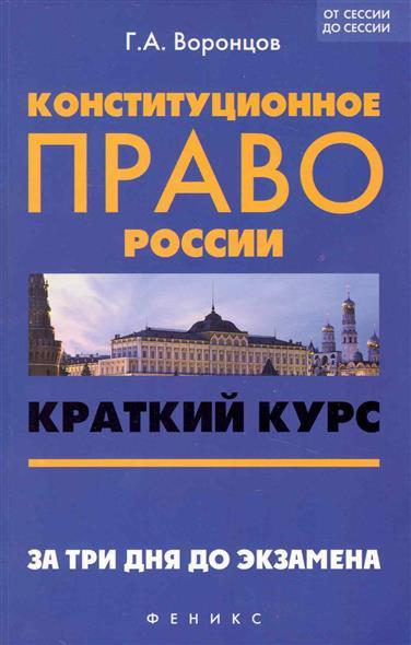 Конституционное право России Краткий курс