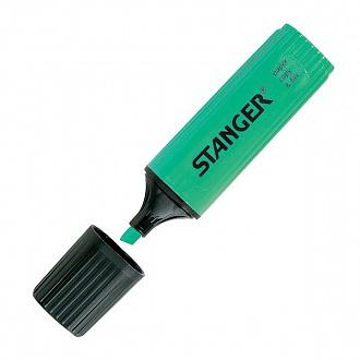 """Текстовыделитель """"Paper&Fax"""" зеленый 1-4 мм, Stanger"""
