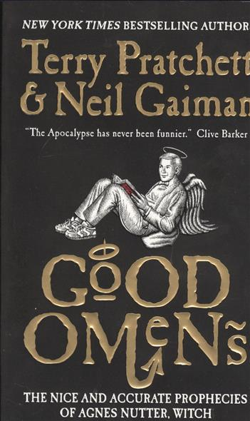Gaiman N., Pratchett T. Good Omens pratchett t dragons at crumbling castle and other stories