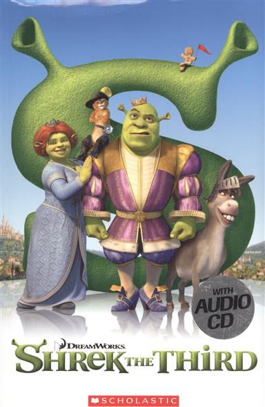 Grisewood E. (edit.) Shrek the Third. Level 3 (+CD) ISBN: 9781906861285 upside down cd cdr by rick sampedro level e