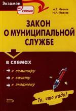 Закон о муниципальной службе в схемах