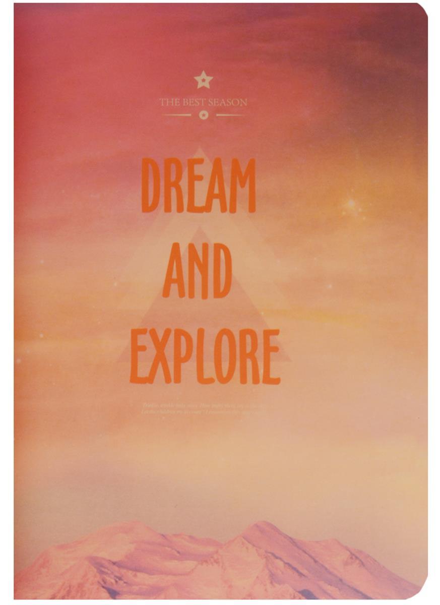 "Тетрадь 40л лин. ""Dream and Explore"" сшивка"