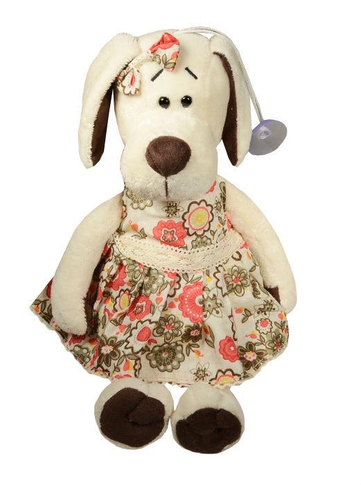 Мягкая игрушка Собачка Лапуська в летнем платье (20 см) (OS121/20)