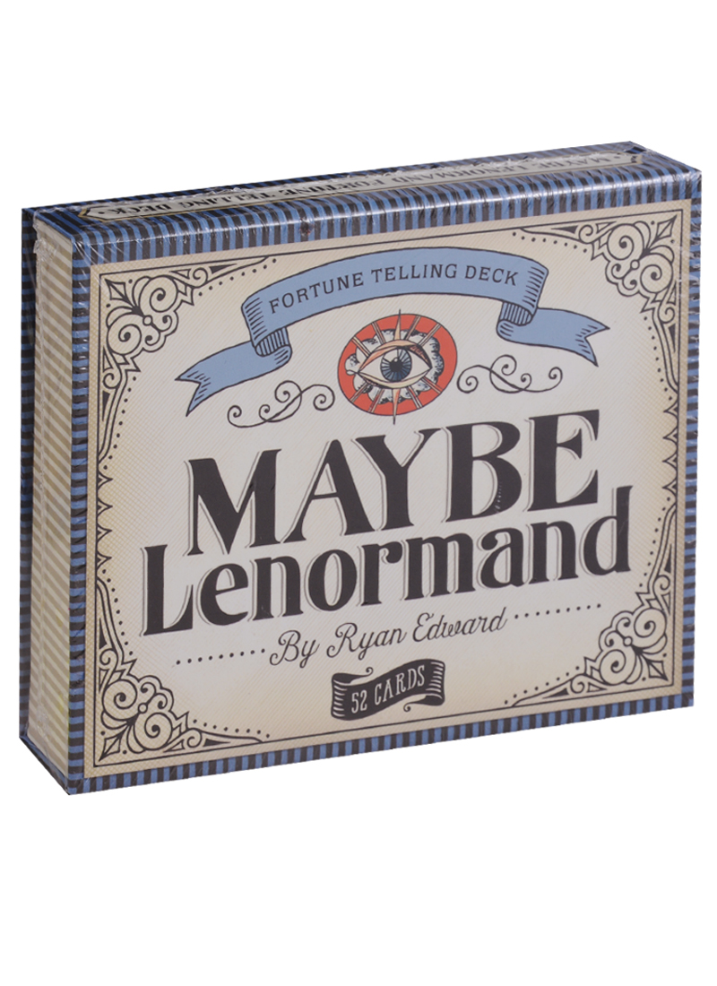 Edward R. Maybe Lenormand (карты + инструкция на английском языке) haggard h r swallow ласточка на английском языке isbn 978 5 521 07737 3