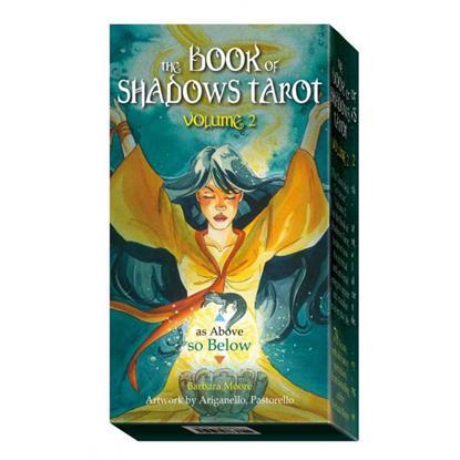 Barbara Moore Таро Так и внизу (Таро Книга Теней , том 2) (78 карт Арканов Таро) (на англ. яз.)