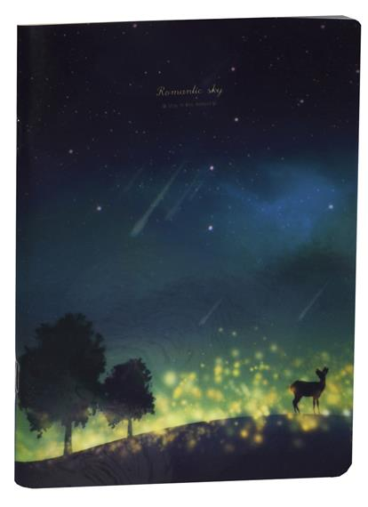 "Тетрадь ""Romantic sky"", 40л, кл."