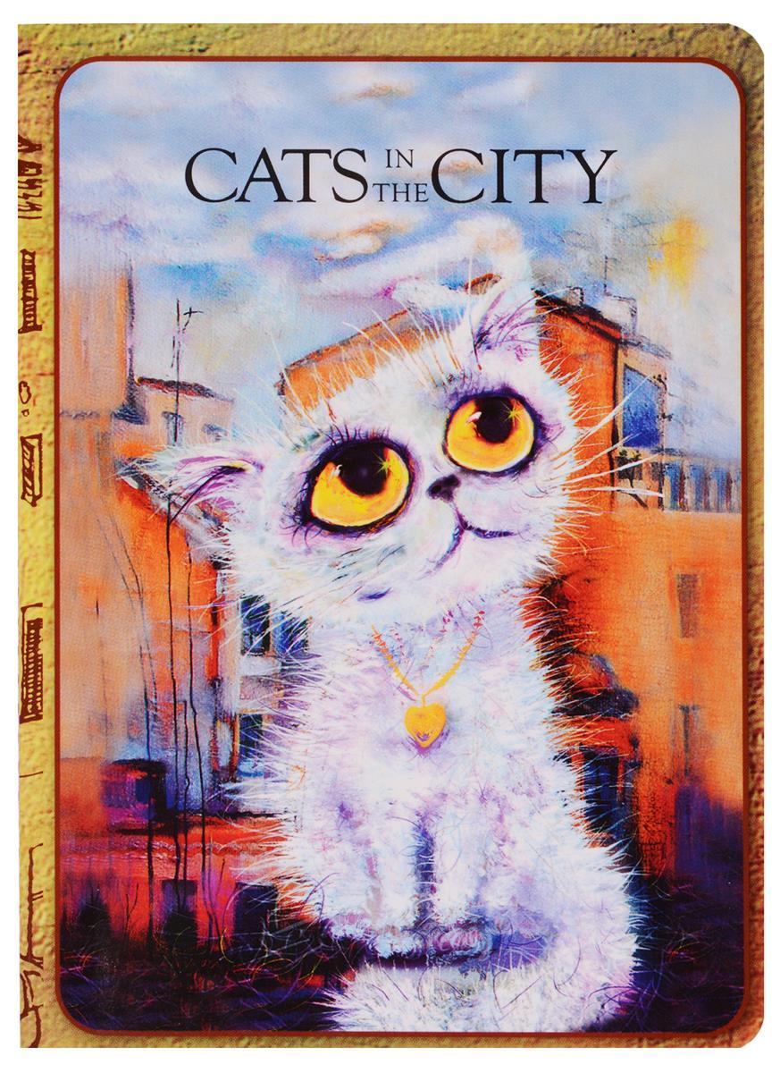 """Записная книжка """"Cats in the City: Облакокошечка"""""""