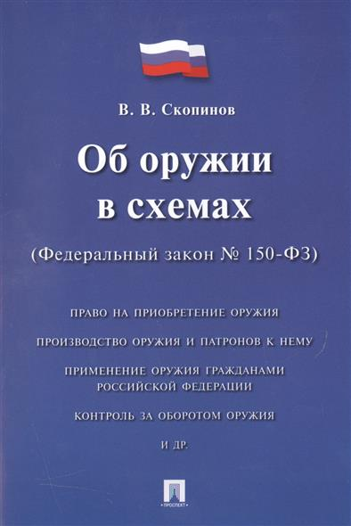 Об оружии в схемах. Федеральный закон № 150-ФЗ