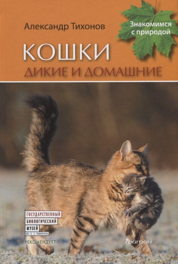 Тихонов А. Кошки дикие и домашние а в тихонов подводное царство