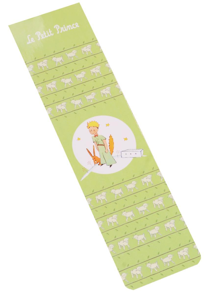 Закладка с резинкой Маленький принц (Салатовый)