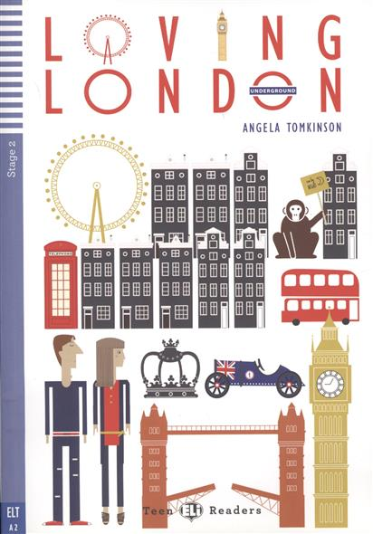 Tomkinson A. Loving London. Stage 2 (+CD) a tale of two cities stage 4 2 cd rom