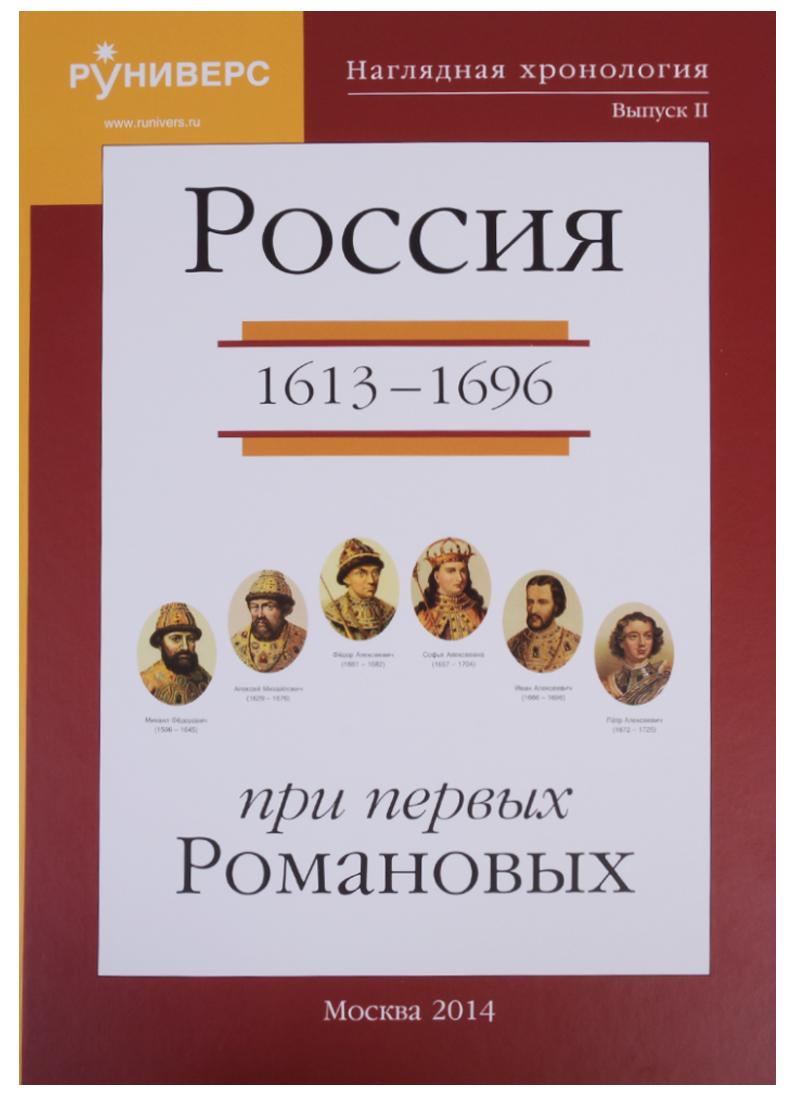 Наглядная хронология. Выпуск II. Россия в правление первых Романовых 1613-1696