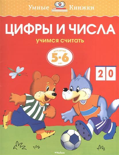 Земцова О. Цифры и числа. Учимся считать. Для детей 5-6 лет эксмо учимся считать до 10 для детей 4 5 лет