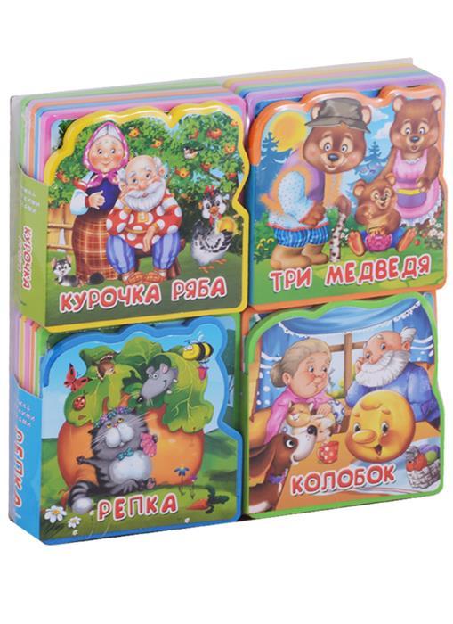 Шестакова И (ред) Подарочный набор книг для детей Мои любимые сказки. Книжка с мягкими пазлами (комплект из 4 книг)