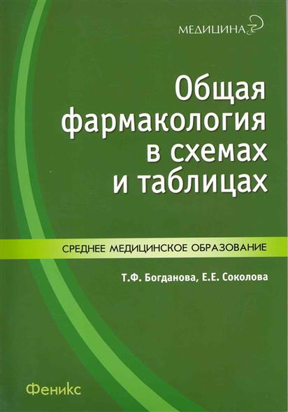 Общая фармакология в схемах и таблицах