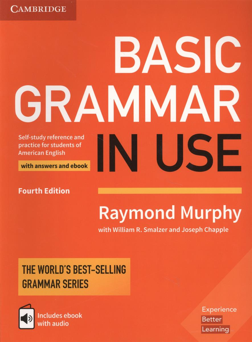 Murphy R. Basic Grammar in USE. Self-study reference and practie for students of American English with answers and ebook inhibitor adsorption and thermodynamic study of metal corrosion
