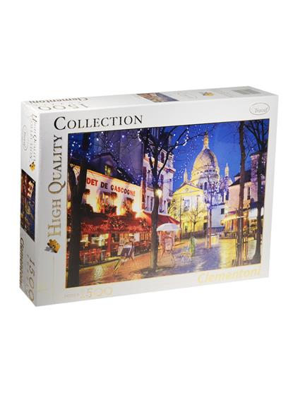Настольная игра Париж. Монмартр, Пазл 1500 элементов