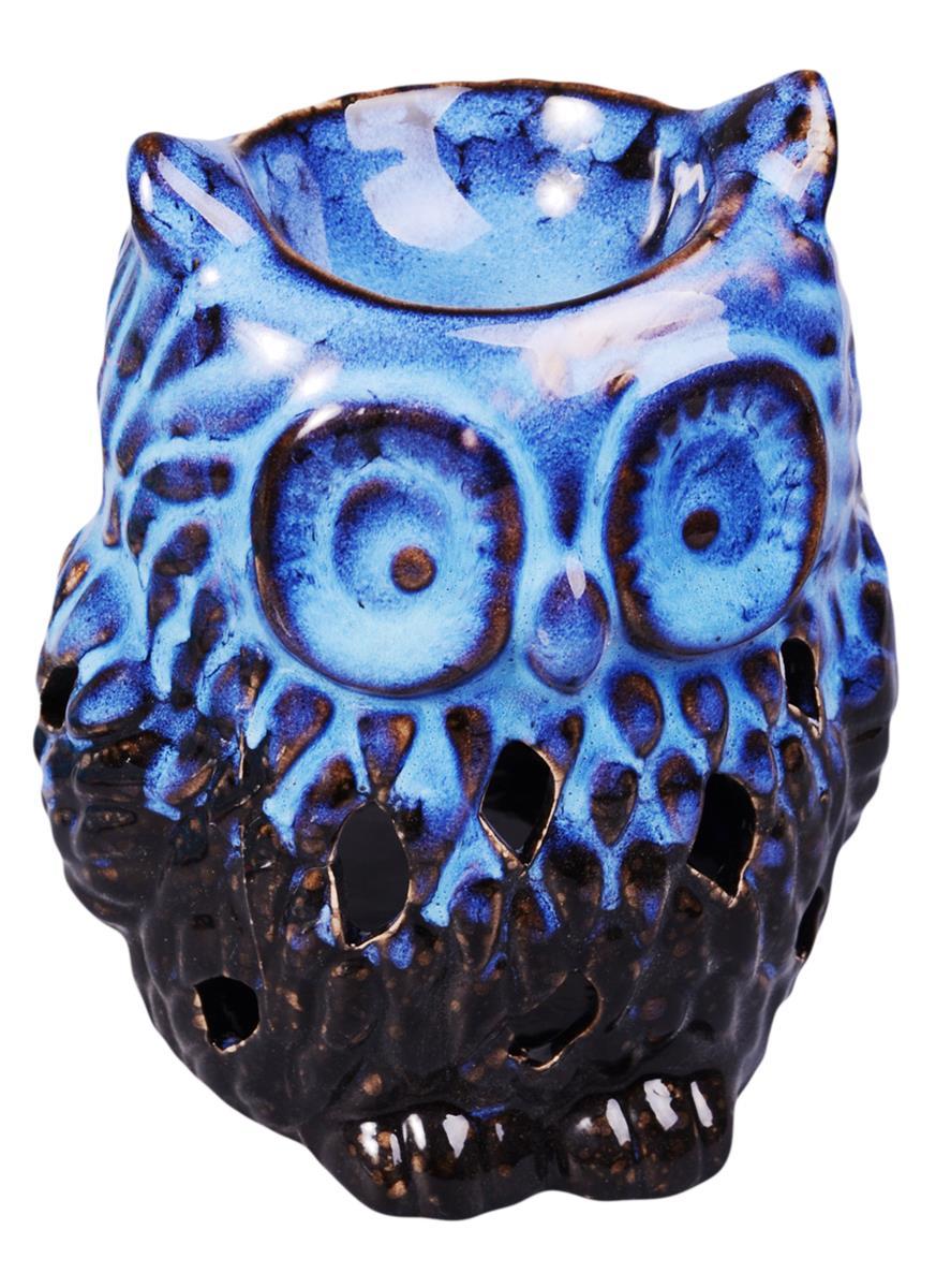 Аромалампа Сова (12х9х9) (3 вида) (керамика)