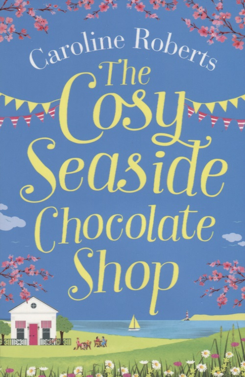 Roberts C. The Cosy Seaside Chocolate Shop removable 3d seaside night fake window wall sticker