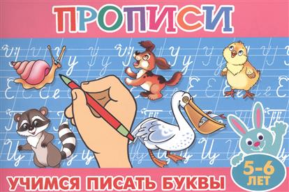 Учимся писать буквы. 5-6 лет ISBN: 9785978009538 анна горохова учимся писать буквы для детей 5 6 лет