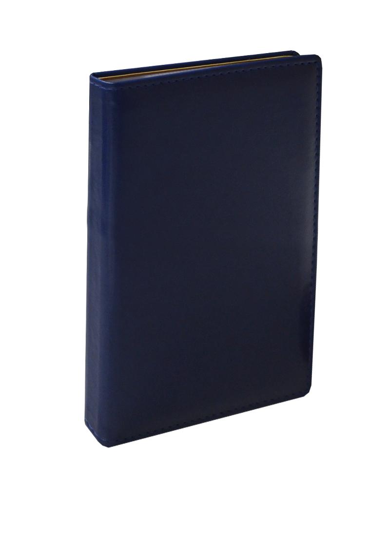 """Визитница """"Бизнес"""", 72 карточки, синяя"""