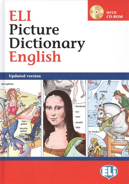 Eli Picture Dictionary English (+СD) (with cd-rom) cambridge learners dictionary english russian paperback with cd rom