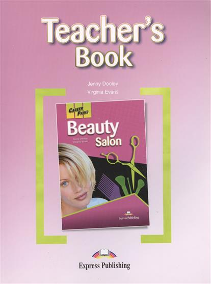 Evans V., Dooley J. Beauty Salon Teacher`s Book secure travel suitcase id luggage tag hands off yellow