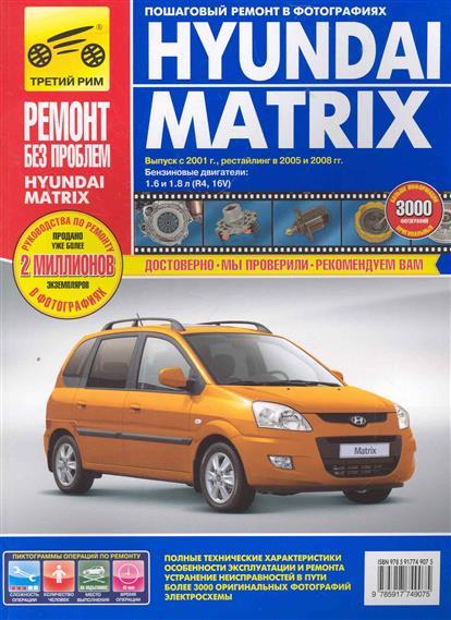 Погребной С. (ред.) Hyundai Matrix автомобильный коврик seintex 86884 для hyundai matrix