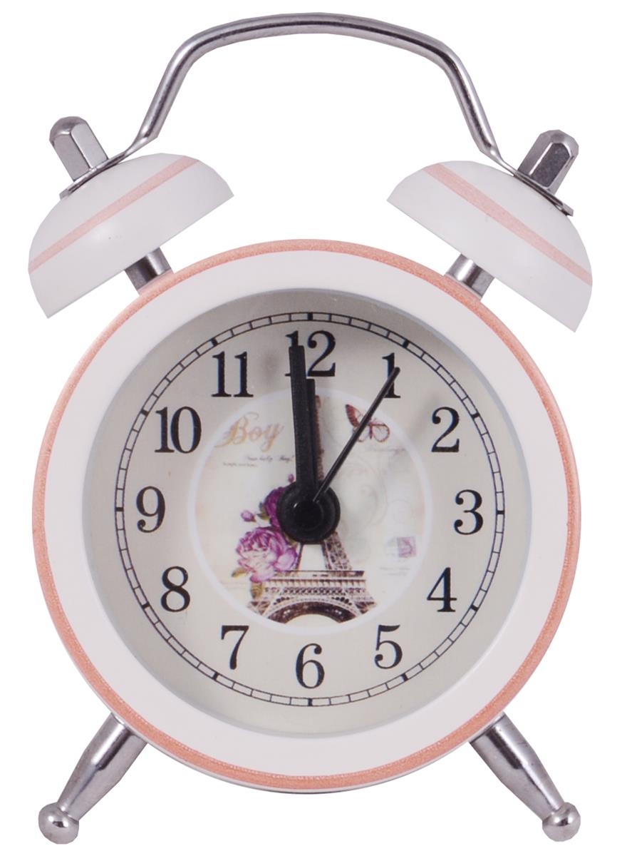 Мини-будильник Эйфелева башня (5см) (металл) (ПВХ бокс)