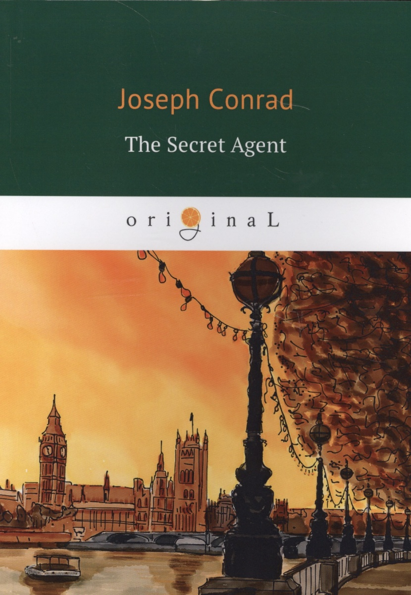 Conrad J. The Secreet Agent торшер markslojd conrad 106324