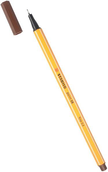 Ручка капиллярная коричневая