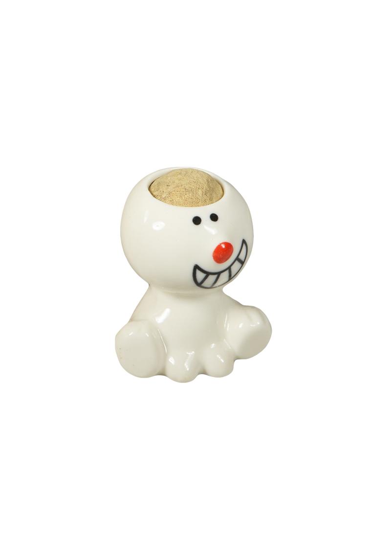 Сувенир растущая травка Человечек с улыбкой (9,5х6х5) (537248) (Сима-ленд)