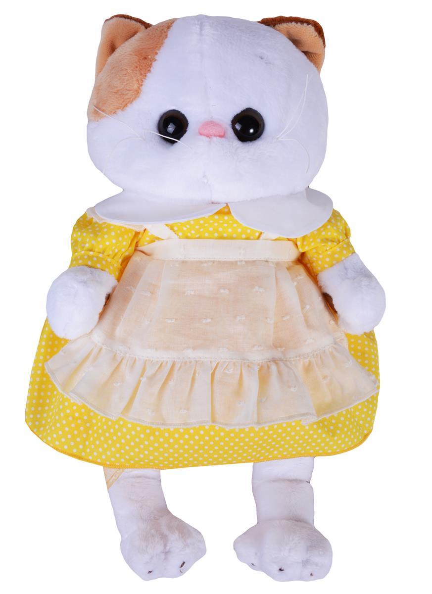 Мягкая игрушка Ли-Ли в желтом платье с передником (27 см)