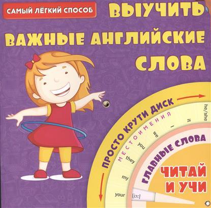 Самый легкий способ выучить важные английские слова. Просто крути диск