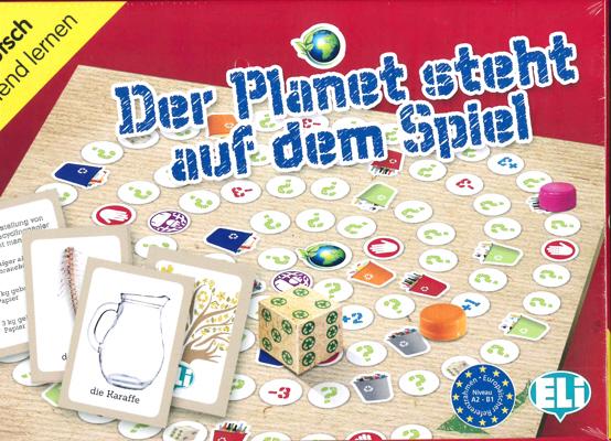 Games: [A2-B1]: Der Planet steht auf dem Spiel games das speil der berufe a2 page 1