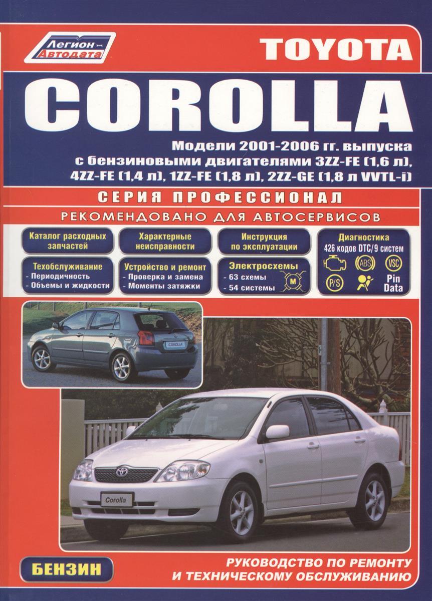 Toyota Corolla Леворул. 2001-2006 с бенз. двиг.