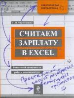 Филимонова Е. Считаем зарплату в Excel Пошаговый самоучитель… самоучитель excel 2000 2 е изд