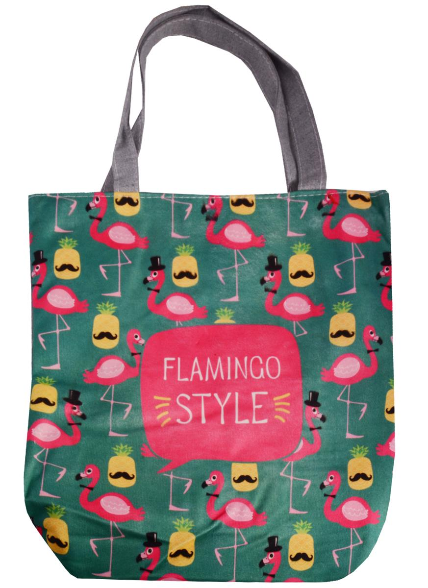 "Сумка на молнии ""Flamingo Style"""
