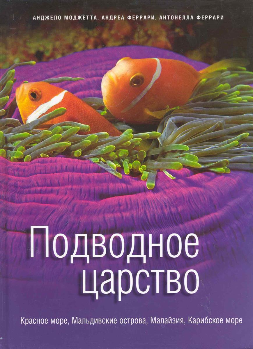 Моджетта А., Феррари А. Подводное царство Красное море Мальдивские острова… а о селезнева подводное царство раскрась свой мир и добавь жизни цвета