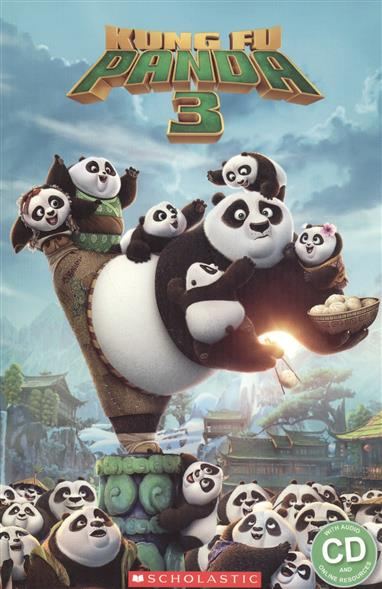 Silver S. Kung Fu Panda 3. Level 3 (+CD) tac кпб tас ranforce детский 3 12 лицензия 1 5 сп kung fu panda power 7040b 8800002025