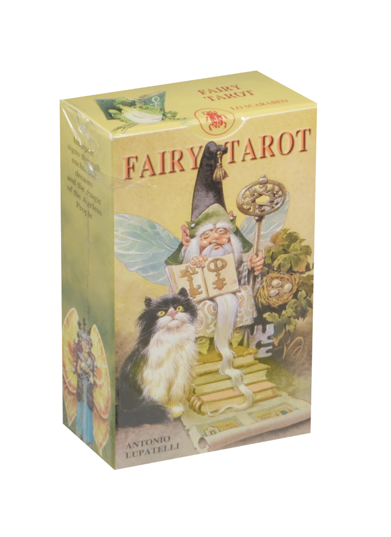 Lupatelli A. Таро Сказка леса (Fairy Tarot) карты таро the magician universal waite tarot deck