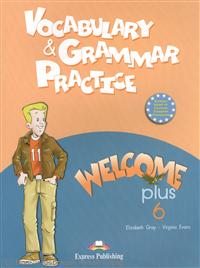 Gray E., Evans V. Vocabulary & Grammar Practice. Welcome Plus 6 welcome plus 6 vocabulary and grammar practice
