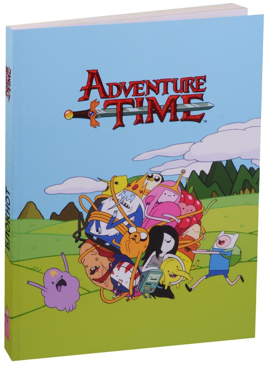 Adventure time Блокнот Сумасшедшая вселенная
