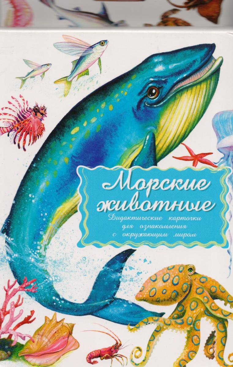 Дидакт. карточки Морские животные алексеева е кит и другие морские животные