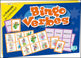 Games: [A1]: Bingo Verbes massin verbes de contact 2ed