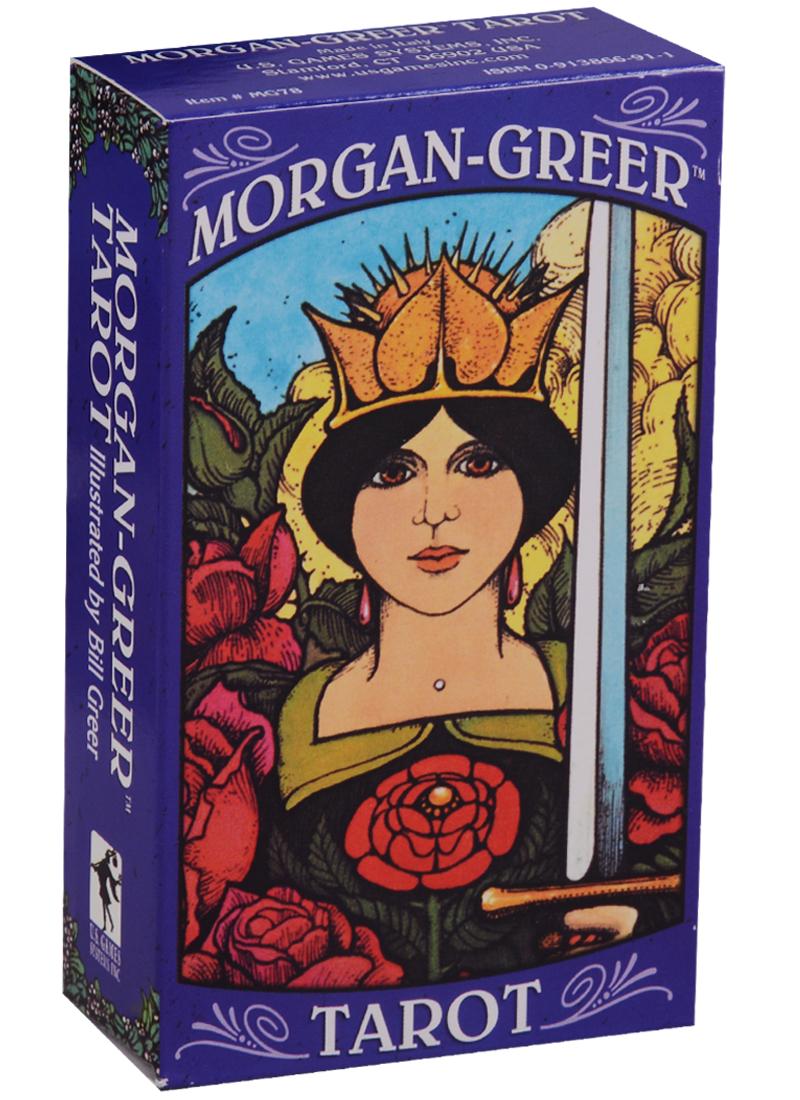 Morgan Greer Tarot / Моргана Грига таро (карты + инструкция на английском языке) магические послания богинь 44 карты инструкция