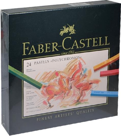 """Пастель """"Polychromos"""", 24 цв., Faber-Castell"""