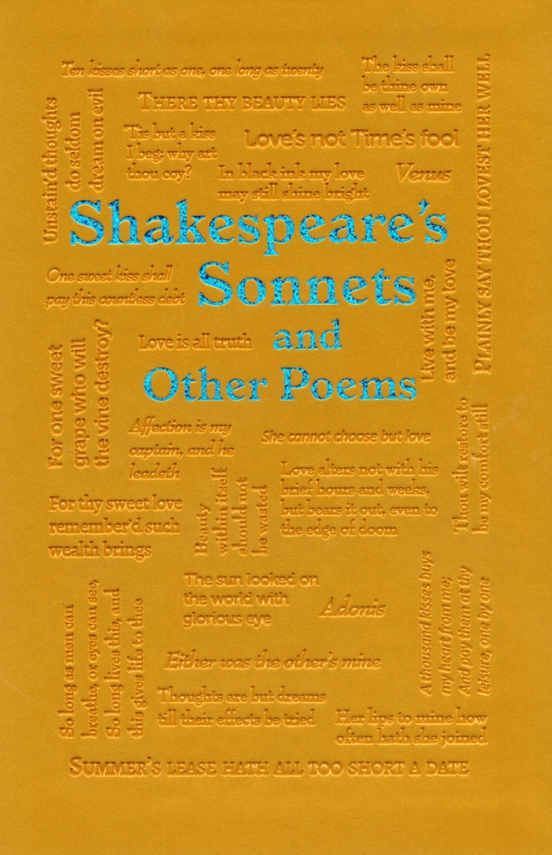 Shakespeare W. Shakespeare's Sonnets and Other Poems ISBN: 9781626869714 spooky